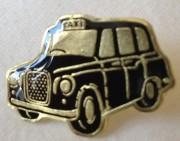 London Taxi lapel pin.